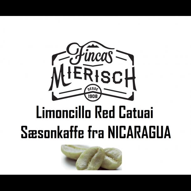 Nicaragua Limoncillo Red Catuai ¤ SÆSONKAFFE ¤ (Rå kaffe)