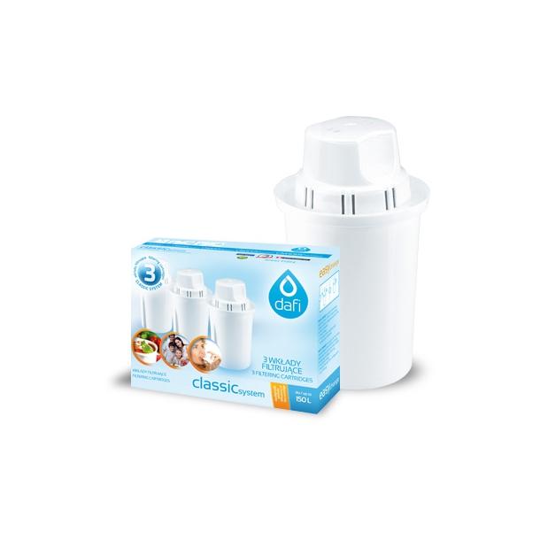 3pack Dafi (Protect+ Classic filter til hårdt vand)