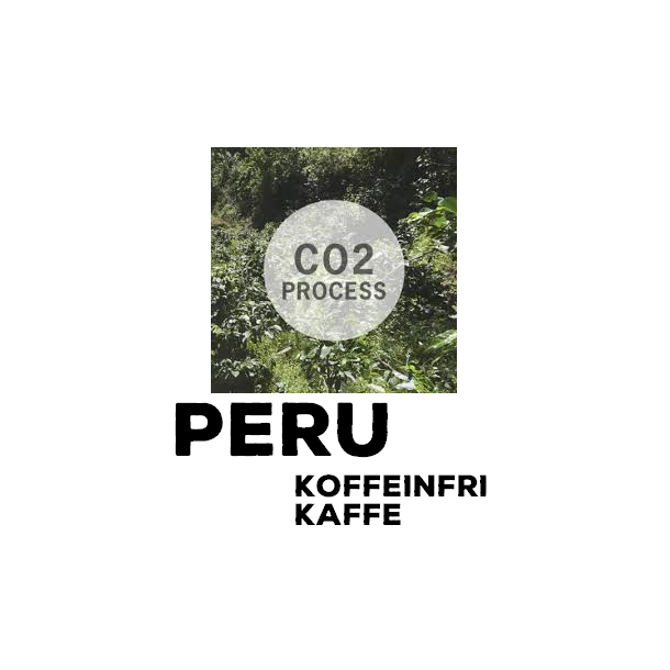 500 gram Peru Primer Grado Descafeinado (ØKO) KOFFEINFRI